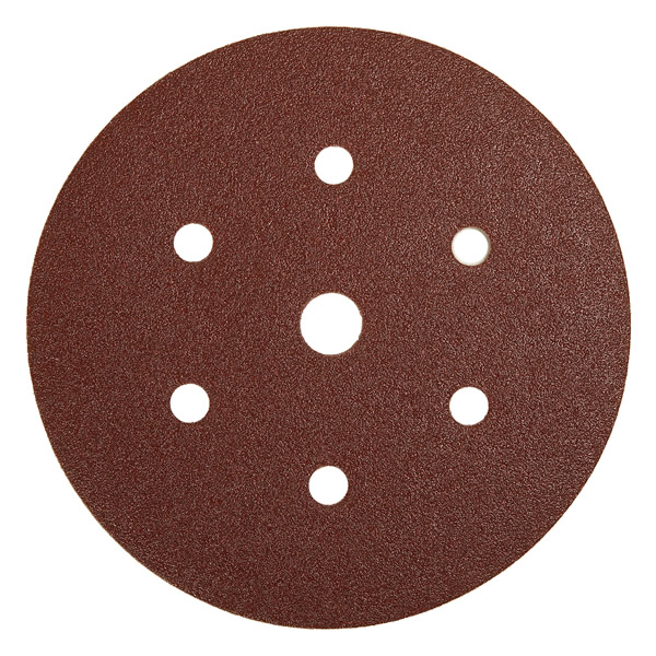 Coarse Cut Grip 150mm Discs 7 Hole (50 Discs) Grit P40