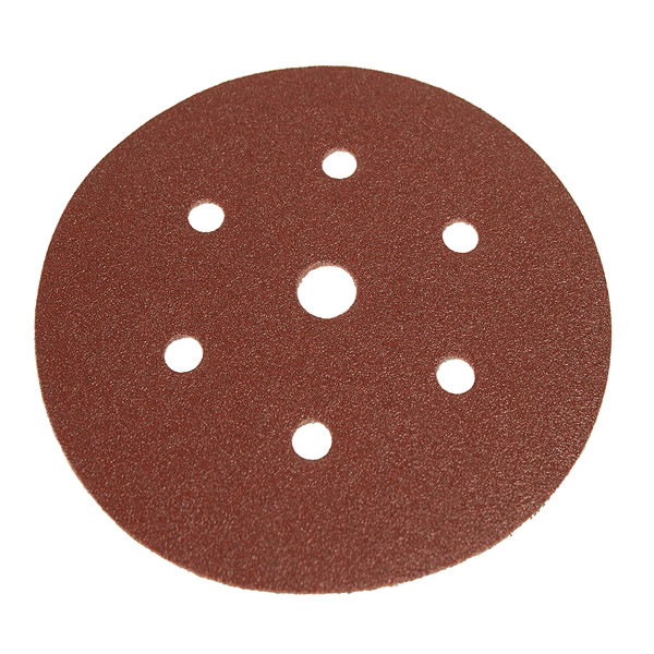 Coarse Cut Grip 150mm Discs 7 Hole (50 Discs) Grit P60