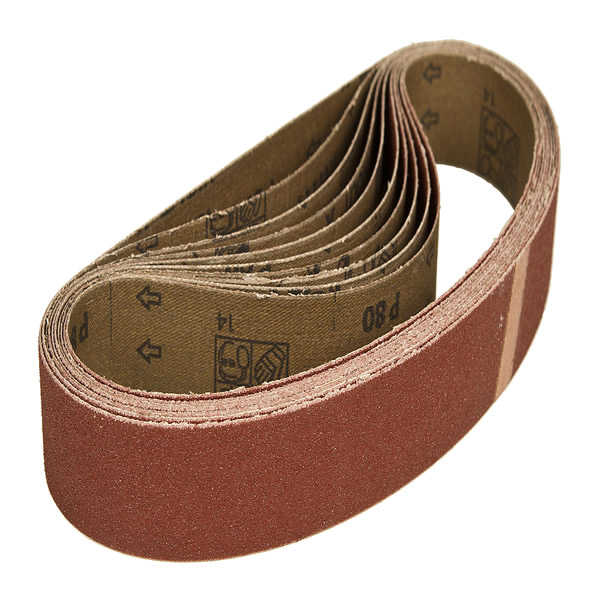 Sanding Belts 100x610mm Hiolit X (10 Belts) Grit P100+