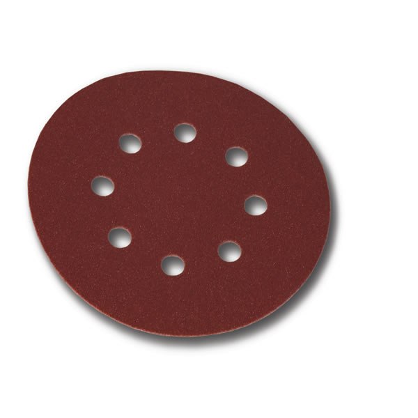 Coarse Cut Grip 125mm Discs 8 Hole (50 discs) Grit P60
