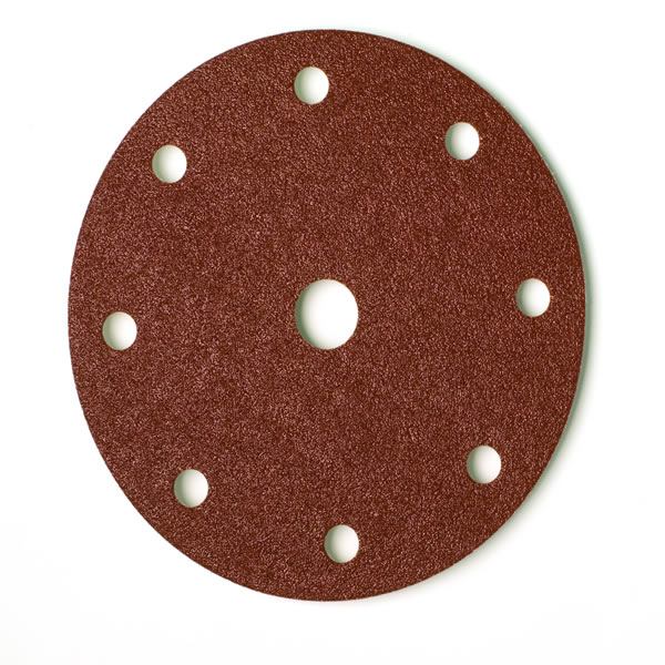 Coarse Cut Grip 150mm Discs 9 Hole (50 Discs) Grit P60