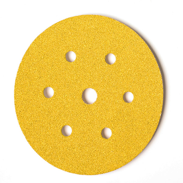 Gold Grip 150mm Discs 7 Hole (50 Discs) Grit P40